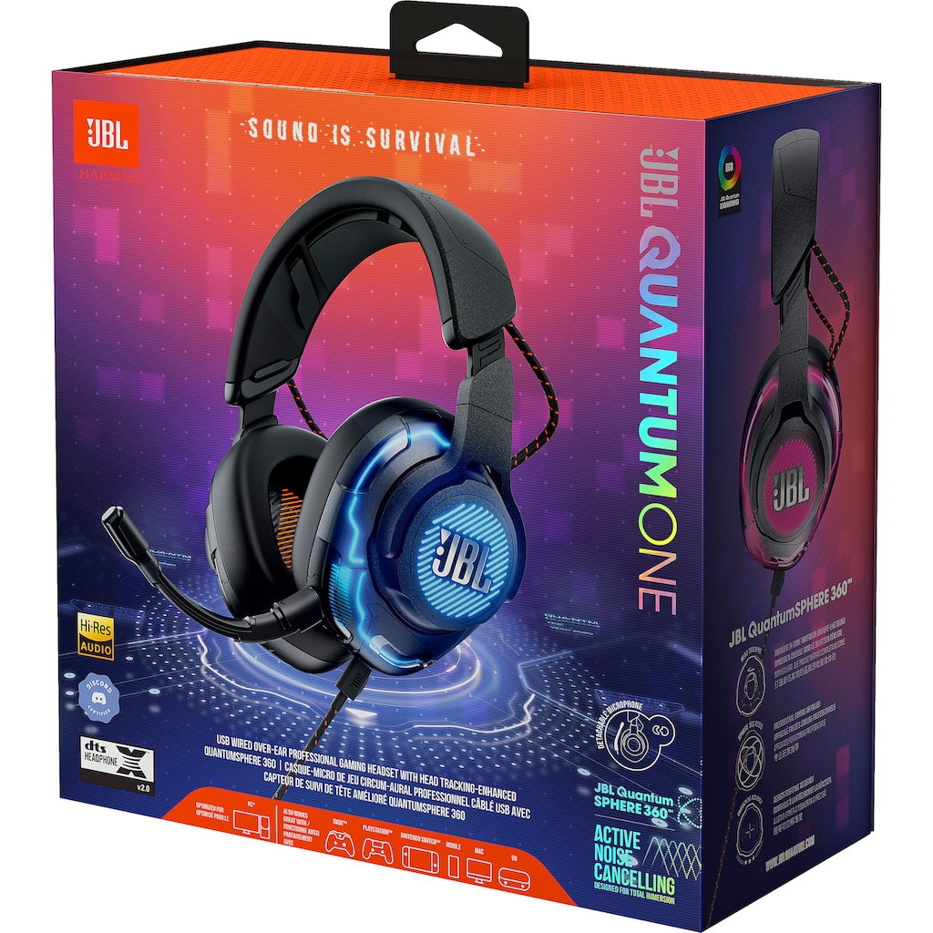 JBL Gaming-Headset »Quantum One«, Noise-Cancelling