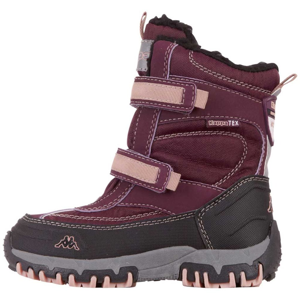 Kappa Winterboots »BONTE TEX T«, wasserdicht, windabweisend & atmungsaktiv