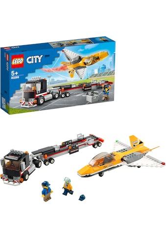 LEGO® Konstruktionsspielsteine »Flugshow-Jet-Transporter (60289), LEGO® City«, (281... kaufen