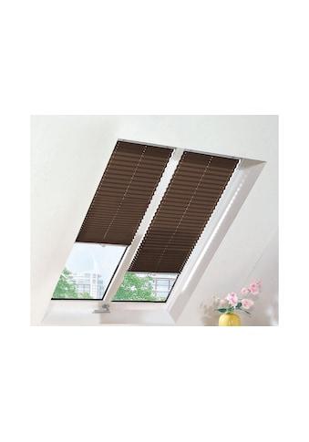 Dachfensterplissee nach Maß, sunlines, verdunkelnd, mit Bohren, verspannt kaufen