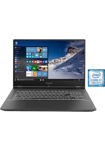 Lenovo Legion Y540 - 17IRH, 81Q4001HGE Notebook (43,9 cm / 17,3 Zoll, Intel,Core i7, 1000 GB HDD, 1000 GB SSD) kaufen