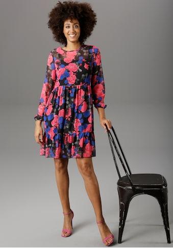 Aniston SELECTED Partykleid, mit Rüsche kaufen