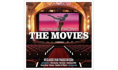 Musik-CD »Songs From The Movies / Various« kaufen
