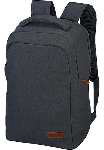 travelite Laptoprucksack »Basics Safety, Anthrazit« kaufen