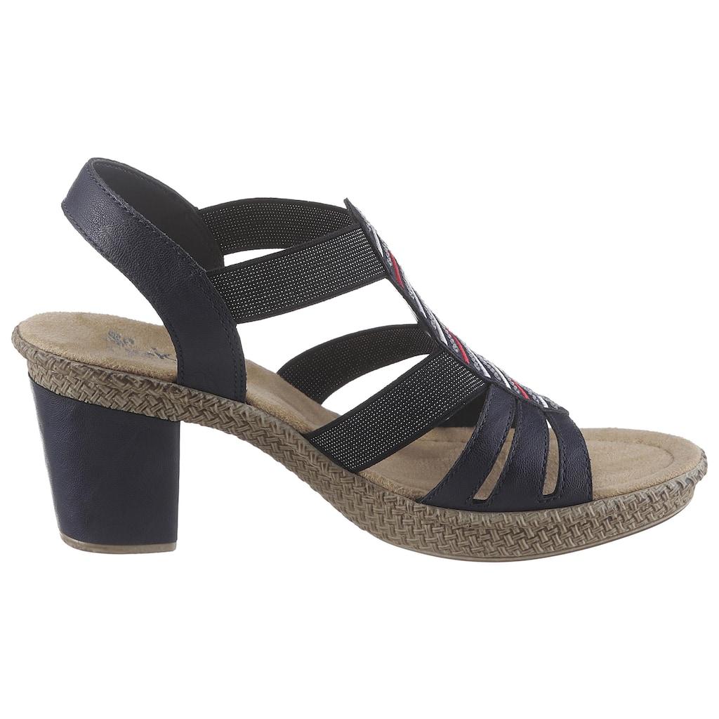 Rieker Sandalette, mit Pailletten-Verzierung