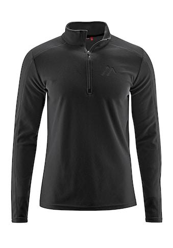 Maier Sports Langarmshirt »Dennis«, Vielseitiger, funktioneller Fleecerolli,... kaufen