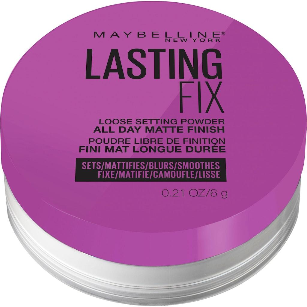 MAYBELLINE NEW YORK Puder »Master Fix«
