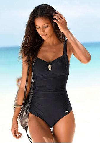 LASCANA Badeanzug, mit Pailletten und Shaping-Effekt kaufen