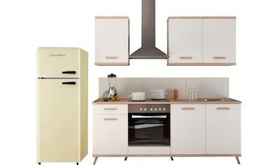 RESPEKTA Küchenzeile »Lebu«, mit E-Geräten, Breite 265 cm kaufen