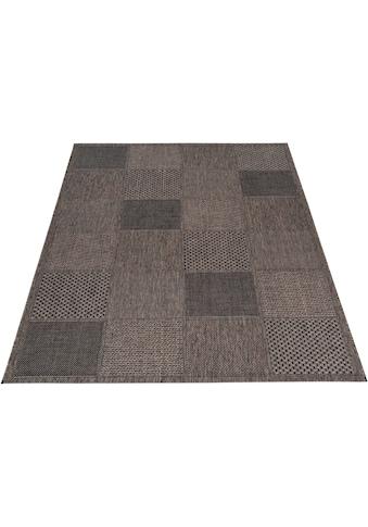 DELAVITA Teppich »Kaspar«, rechteckig, 5 mm Höhe, Innen-und Outdoor geeignet, Wohnzimmer kaufen