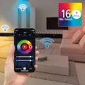 Hama Smarter Lichtschalter »für App- und Sprachsteuerung«, für LED Streifen, ohne Hub/Gateway/Bridge