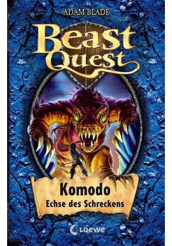Buch »Beast Quest 31 - Komodo, Echse des Schreckens / Adam Blade, Sandra Margineanu« kaufen