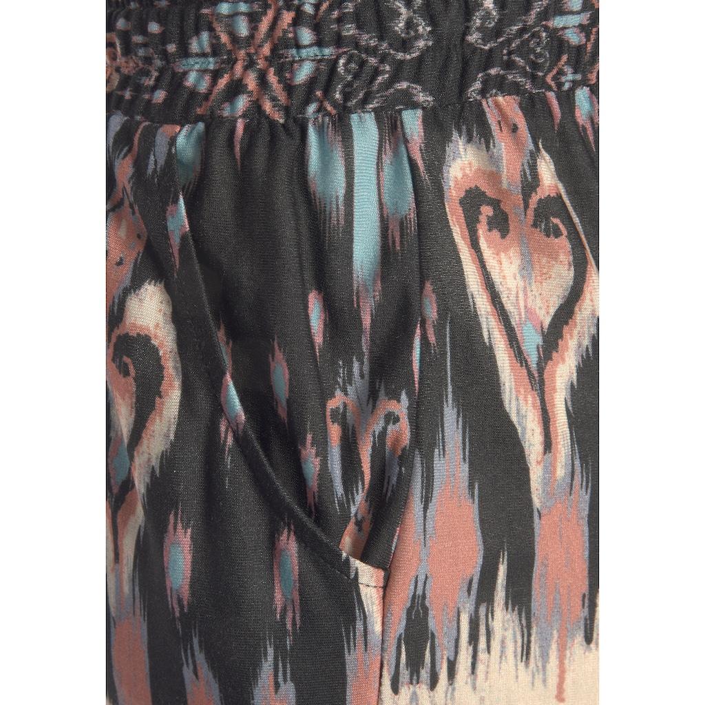 Buffalo Jerseyhose, mit Ethnoprint