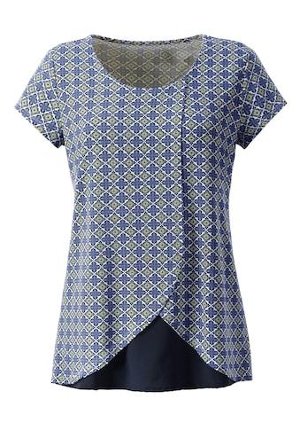 Classic Inspirationen Shirt im modernem Krawattendessin kaufen