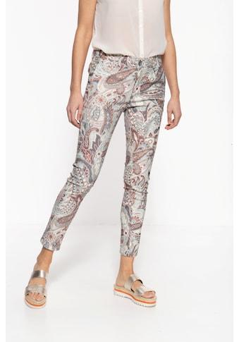 ATT Jeans 5-Pocket-Jeans »Ruby«, mit auffälligem Paisley-Muster kaufen