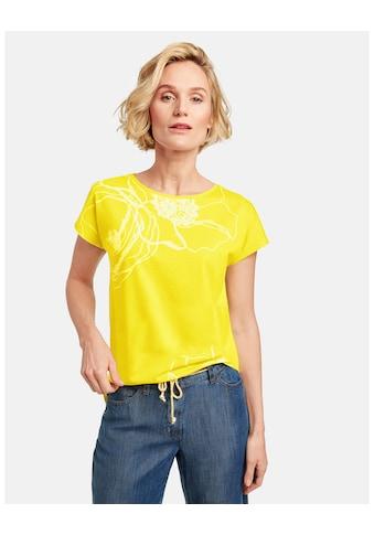 GERRY WEBER T - Shirt 1/2 Arm »Shirt mit Blüten« kaufen