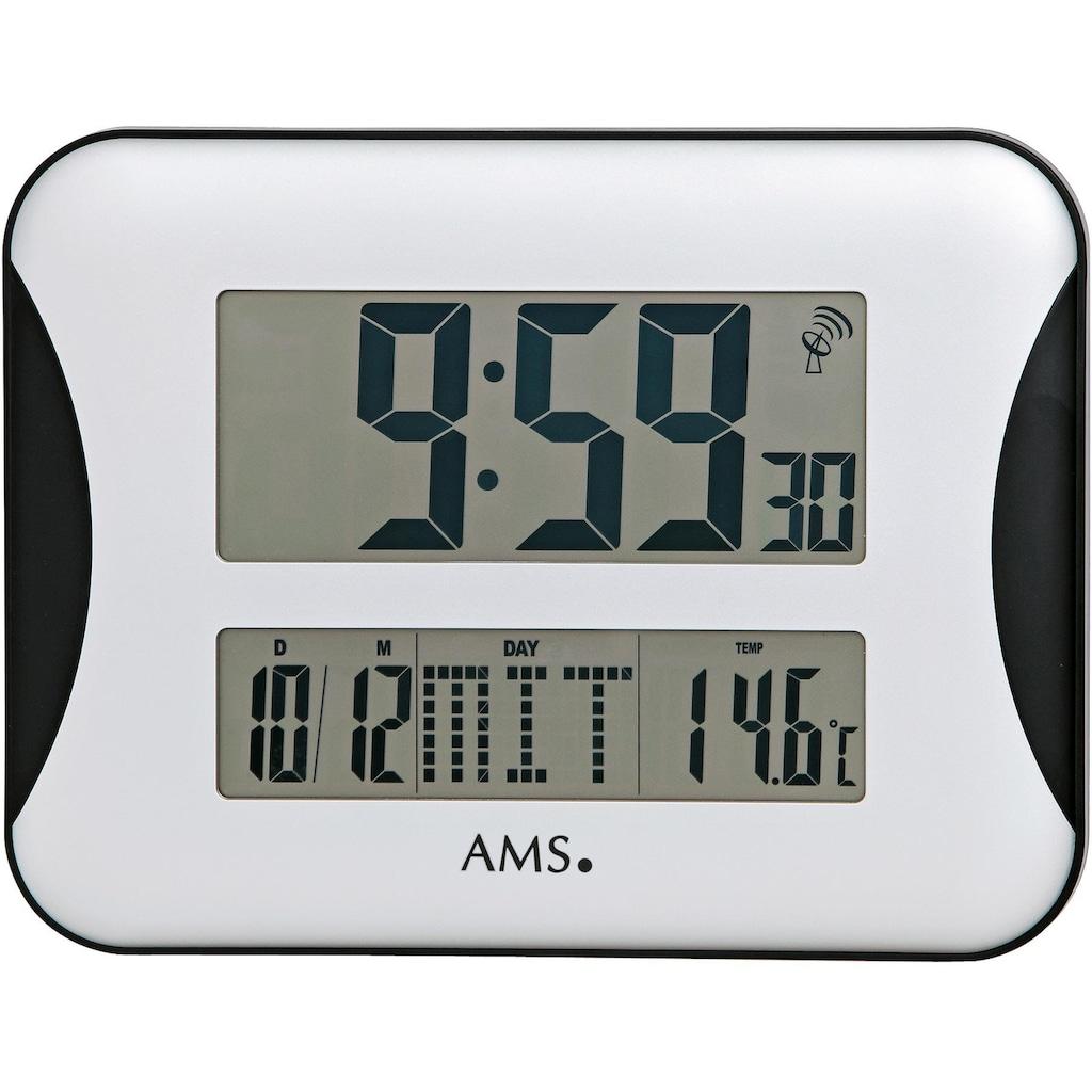 AMS Funkwanduhr »F5894«, mit Alarm