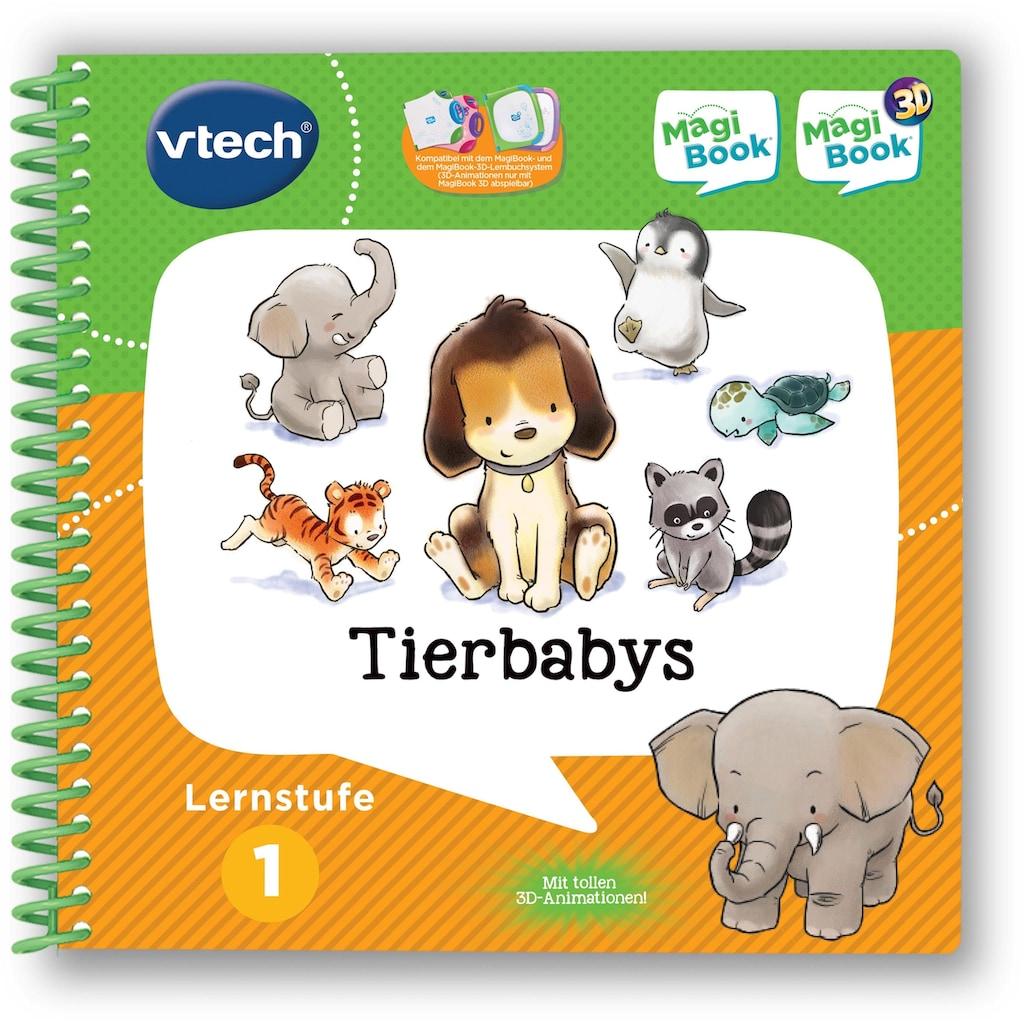 Vtech® Buch »MagiBook Lernstufe 1 - Tierbabys«