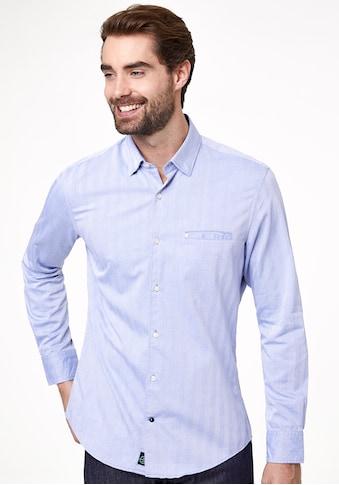 Pierre Cardin Hemd Herringbone kaufen