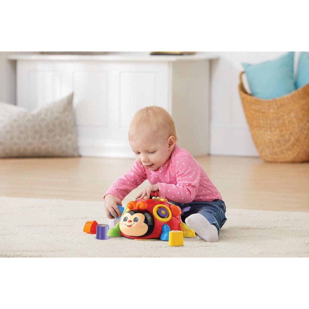 Vtech® Lernspielzeug »Fröhlicher Lernkäfer«, mit Licht & Sound