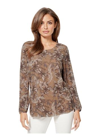 Lady Bluse aus leicht transparenter Chiffon - Qualität kaufen