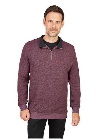 Hajo Stay Fresh Sweatshirt Waffelstruktur mit Brusttasche kaufen