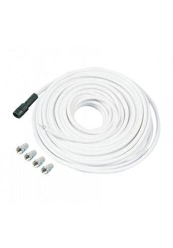 TELESTAR SAT-Kabel »SKYCABLE 100, 30 m mit 4 F-Steckern«, F-Stecker kaufen
