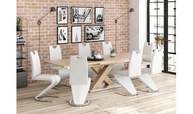 Mäusbacher Esstisch »Komfort C«, mit X-Gestell in asteichefarben und mit... kaufen