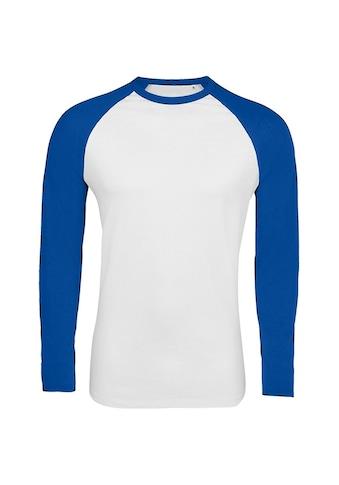 SOLS T-Shirt »Herren Funky Kontrast Langarm« kaufen