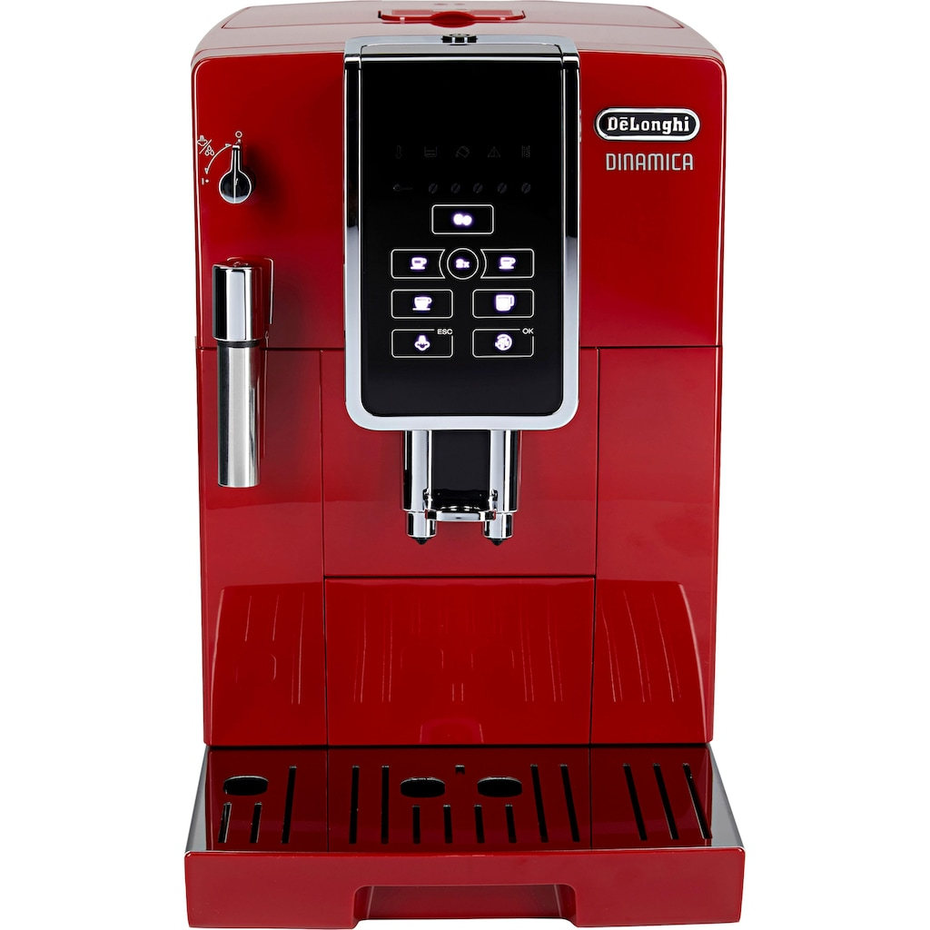 De'Longhi Kaffeevollautomat »Dinamica ECAM 358.15.R«, Sensor-Bedienfeld