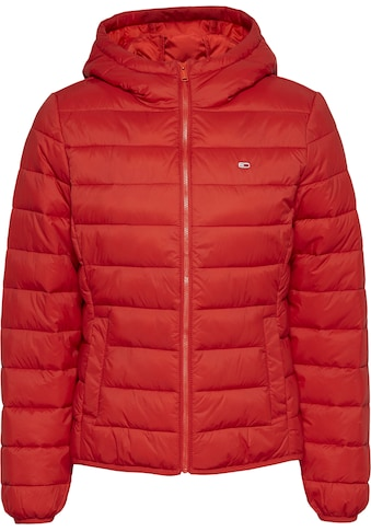 TOMMY JEANS Steppjacke »TJW HOODED QUILTED ZIP THRU« kaufen