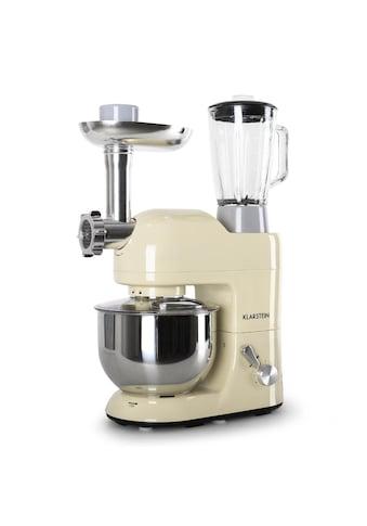 Klarstein Küchenmaschine Rührmaschine 5L Fleischwolf Mixer Blender 1200W »Lucia« kaufen