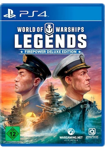 World of Warships Legends  -  Firepower Deluxe Edition PlayStation 4 kaufen