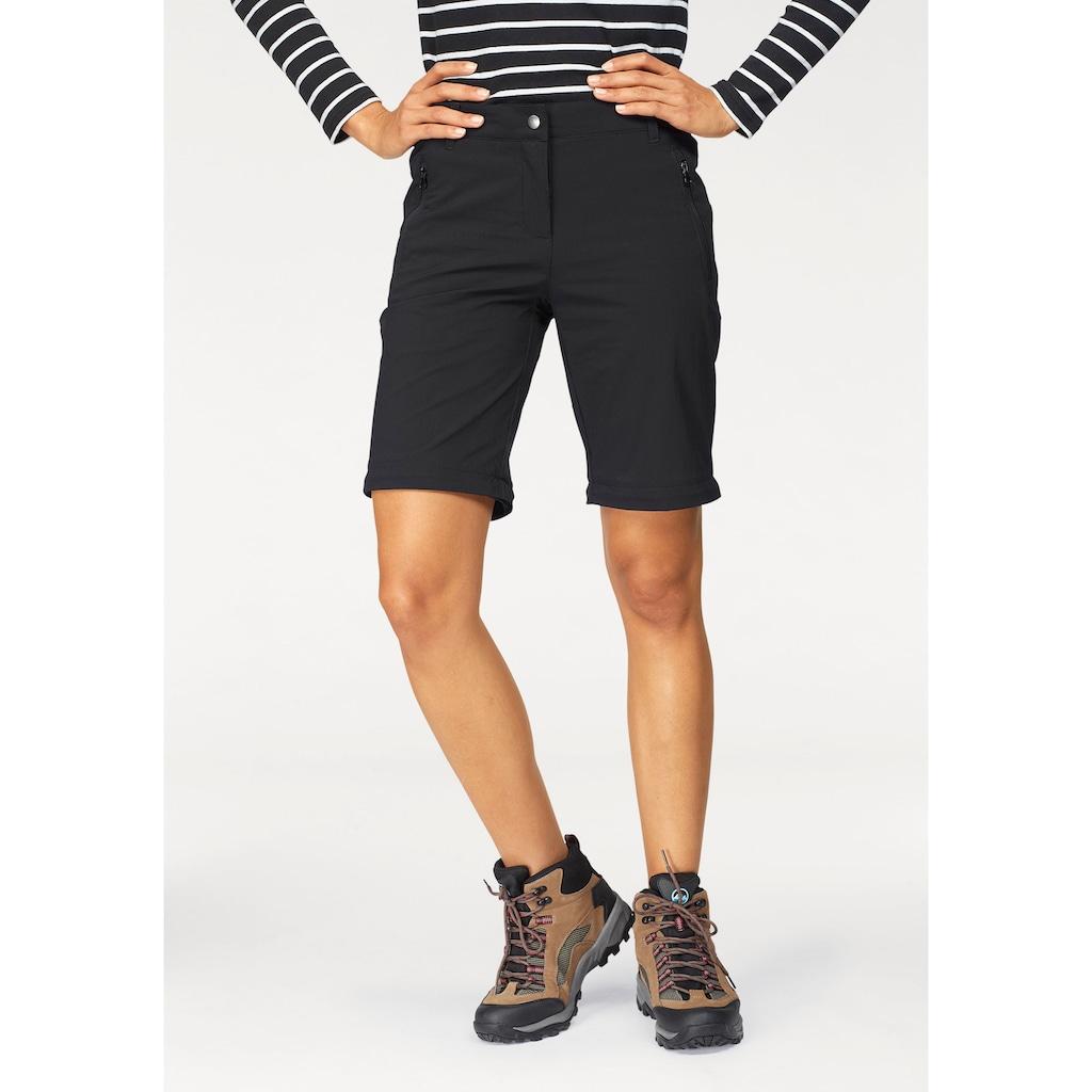 Polarino Trekkinghose, mit abzippbaren Beinen