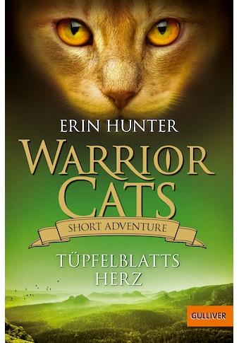 Buch »Warrior Cats - Short Adventure - Tüpfelblatts Herz / Erin Hunter, Petra Knese« kaufen