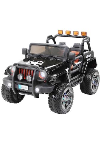 MIWEBA Elektro - Kinderauto »Wrangler Offroad Jeep ALLRAD 2 - Sitzer«, für 2 Kinder ab 3 Jahre, 24 V kaufen