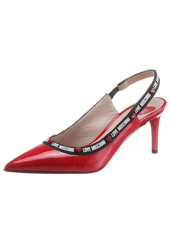LOVE MOSCHINO Slingpumps, in spitzer Form kaufen