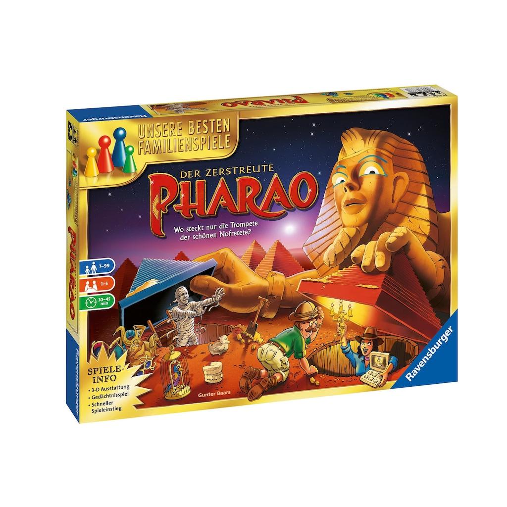 Ravensburger Spiel »Der zerstreute Pharao«, Made in Europe, FSC® - schützt Wald - weltweit