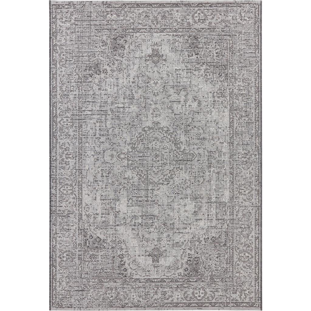 ELLE DECORATION Teppich »Cenon«, rechteckig, 3 mm Höhe, Vintage, In- und Outdoorgeeignet, Wohnzimmer