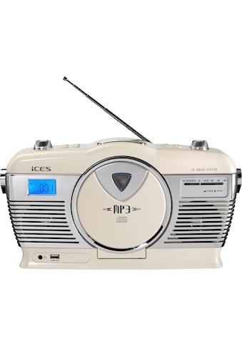 Lenco Retro-Radio »ISCD-33«, (FM-Tuner) kaufen