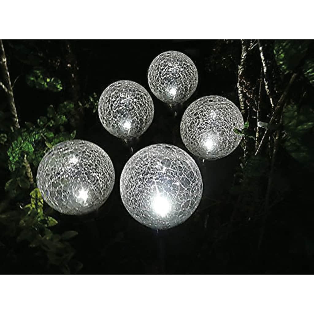 Think@Pets Gartenleuchte »BALLS«, LED-Board, Set, 5 Stück