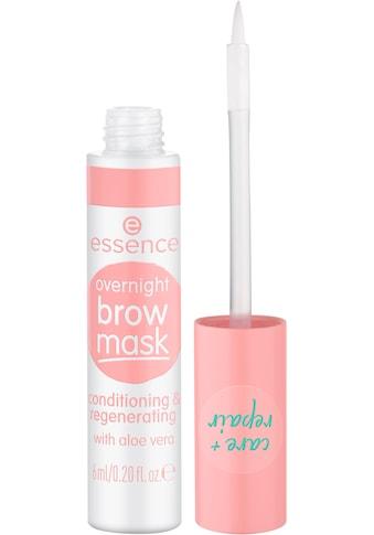 Essence Augenbrauenpflege »overnight brow mask«, (Set, 3 tlg.) kaufen