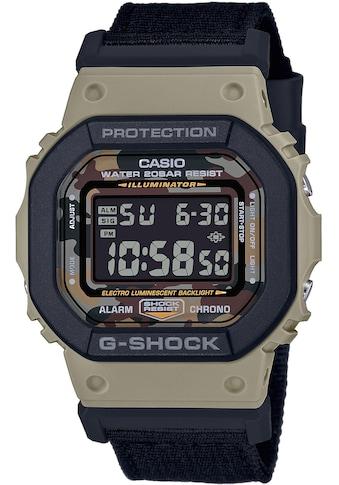 CASIO G-SHOCK Chronograph »DW-5610SUS-5ER«, (Set, 2 tlg., Uhr mit 1 Wechselarmband) kaufen