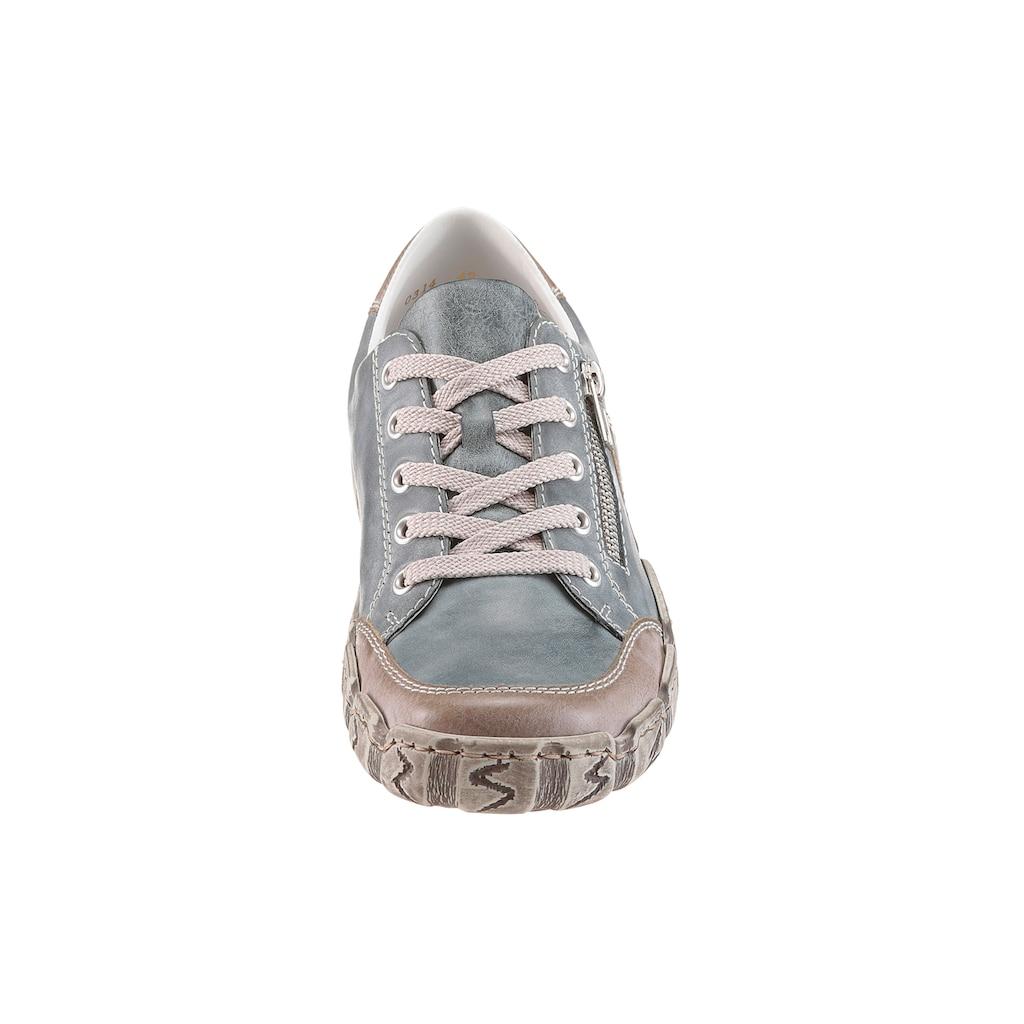 Rieker Sneaker, mit Zierreißverschluss