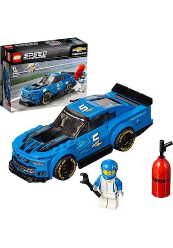 """LEGO® Konstruktionsspielsteine """"Rennwagen Chevrolet Camaro ZL1 (75891), LEGO® Speed Champions"""", (198 - tlg.) kaufen"""