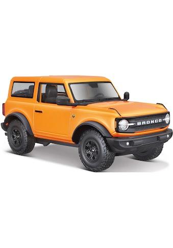 Maisto® Sammlerauto »Ford Bronco Badlands ´21, orange«, 1:24 kaufen