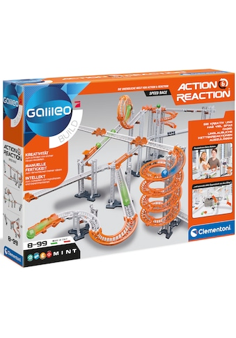Clementoni® Experimentierkasten »Galileo Action & Reaction - Speed Race«, Made in Europe kaufen