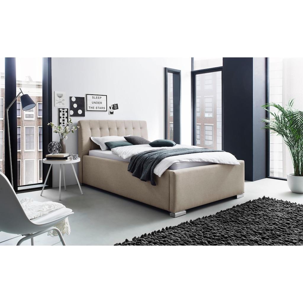 Places of Style Polsterbett »La Finca«, wahlweise mit Bettkasten