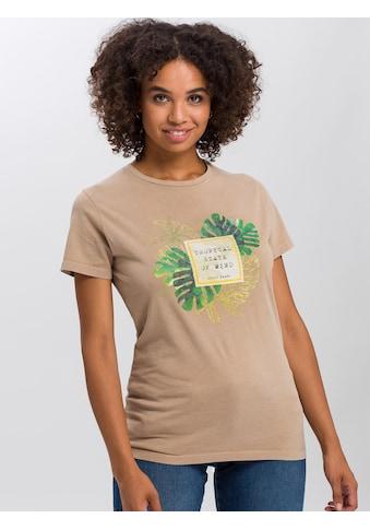 Cross Jeans® T-Shirt »55715«, Tropical Summer kaufen