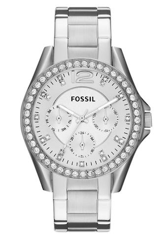 Fossil Multifunktionsuhr »RILEY, ES3202« kaufen